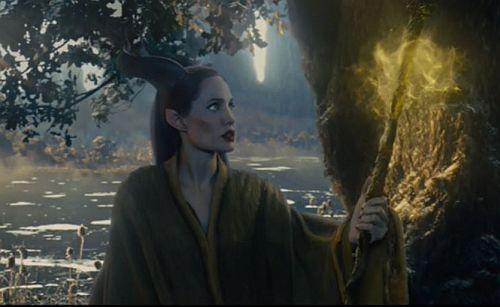 She seems to understand despair and to know what it is to stand on the brink and rebuild a life.  (screenshot from Maleficent with Angelina Jolie)