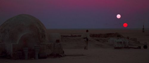 Star Wars Episode IV: A New Hope (1977) offers an optimistic worldview
