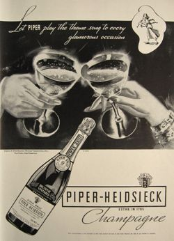 A 1934 ad for Piper-Heidsieck