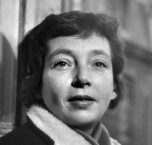 Marguerite Duras. Photo courtesy of the GNU Free Documentation License,, via Wikimedia Commons