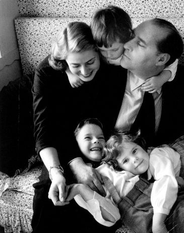 Ingrid Bergman with Roberto Rossellini, Robertino, Isabella, and Isotta. Courtesy of Photoest