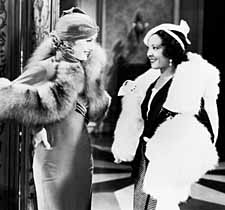 Stanwyck and Theresa Harris