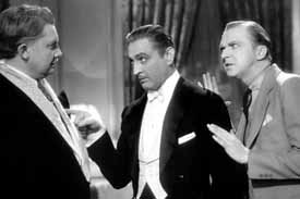 Dinner at Eight, with Jean Hersholt and John Barrymore