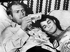 McQueen and Ali MacGraw in The Getaway