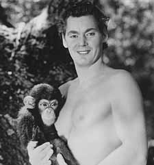 Johnny Weissmuller and Cheeta