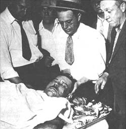 The real John Dillinger, dead