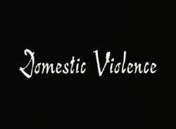Domestic Violence title credit