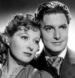 With Robert Donat in Goodbye Mr. Chips