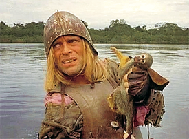 Klaus Kinski in Aguirre: Wrath of God