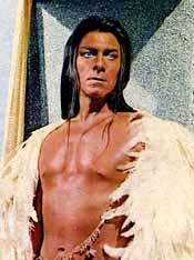 Christopher Plummer as Atahualpa in The Royal Hunt of the Sun