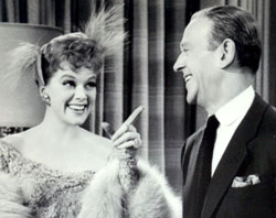 Janis Paige and Fred