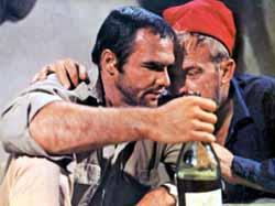 Burt Reynolds and Arthur Kennedy