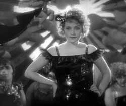 Dietrich in The Blue Angel