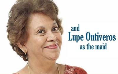 'Lupe Ontiveros as the maid'
