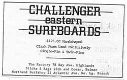 Challenger Eastern Surfboards