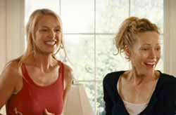 Katherine Heigl and Leslie Mann in Knocked Up