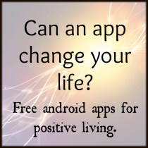 Apps for positive thinking