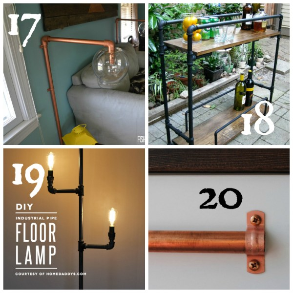 Industrial Furniture DIY Round-up