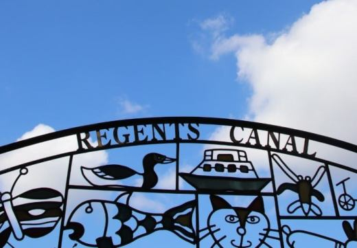 Regents Canal gate London