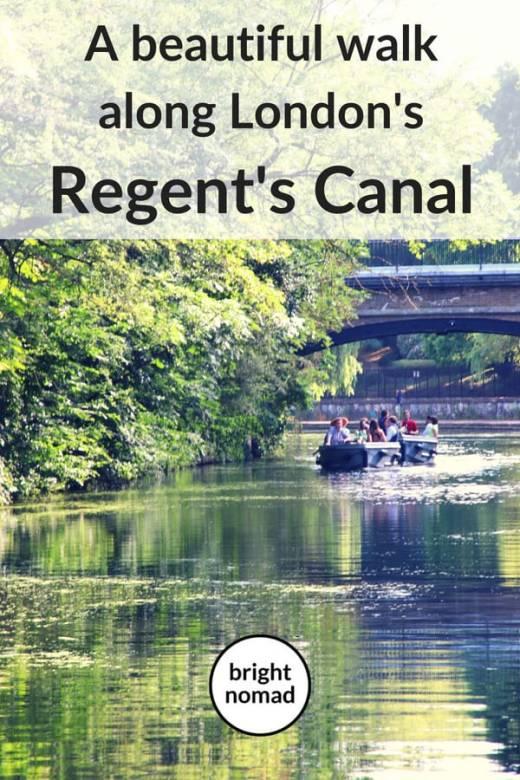 Walking the beautiful Regents Canal London (2)