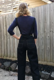 Dungarees: Freddies of Pinewood / Top: ModCloth