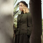 Vintage Style Blog: reproduction 1940s wartime era jacket | reproduction 1940s skirt | beret