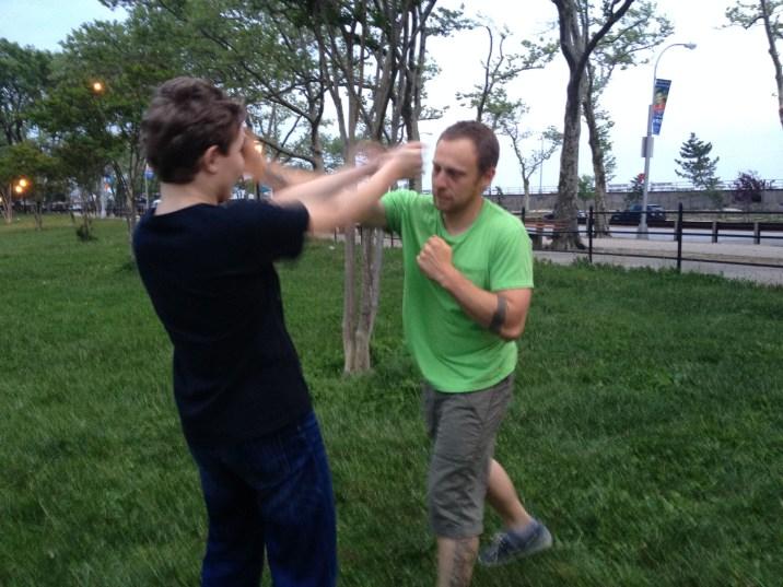 Wing Chun Training 2014 05 27_42