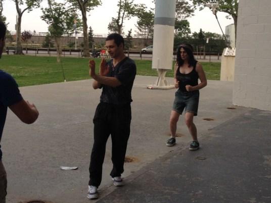 Wing Chun Training 2014 06 03_01