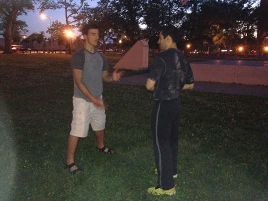 Wing Chun Training 2014 06 05_09