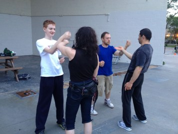 Wing Chun Training 2014 06 10_06