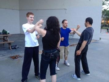 Wing Chun Training 2014 06 10_06