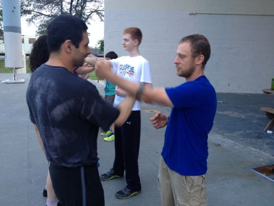 Wing Chun Training 2014 06 10_12