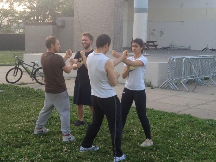 Wing Chun Training 2014 06 17_01
