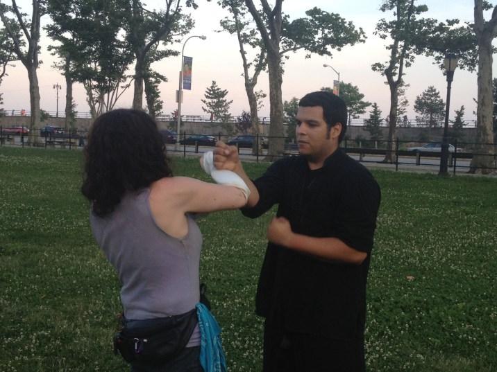 Wing Chun Training 2014 06 17_09