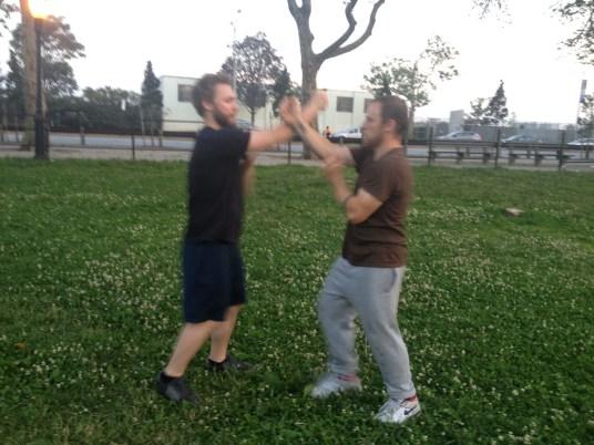Wing Chun Training 2014 06 17_11