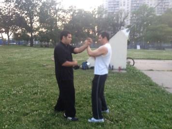 Wing Chun Training 2014 06 17_14