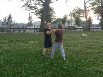 Wing Chun Training 2014 06 17_19