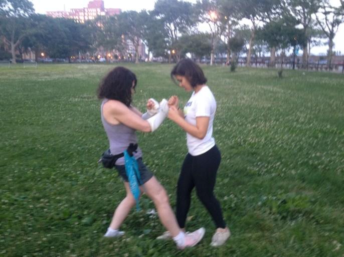 Wing Chun Training 2014 06 17_21