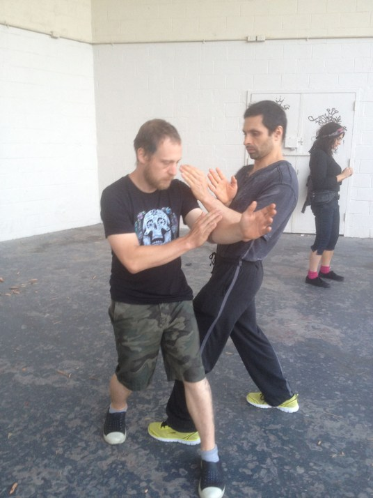Wing Chun Training 2014 06 24_02