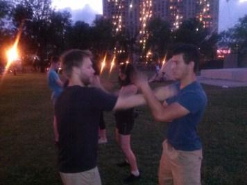 Wing Chun Training 2014 06 26_07