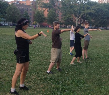 Wing Chun Training 2014 07 08_22