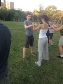 Wing Chun Training 2014 07 17_03
