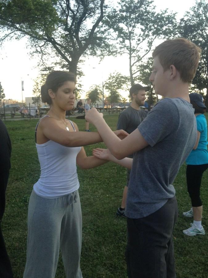 Wing Chun Training 2014 07 17_10