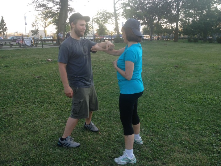 Wing Chun Training 2014 07 17_14
