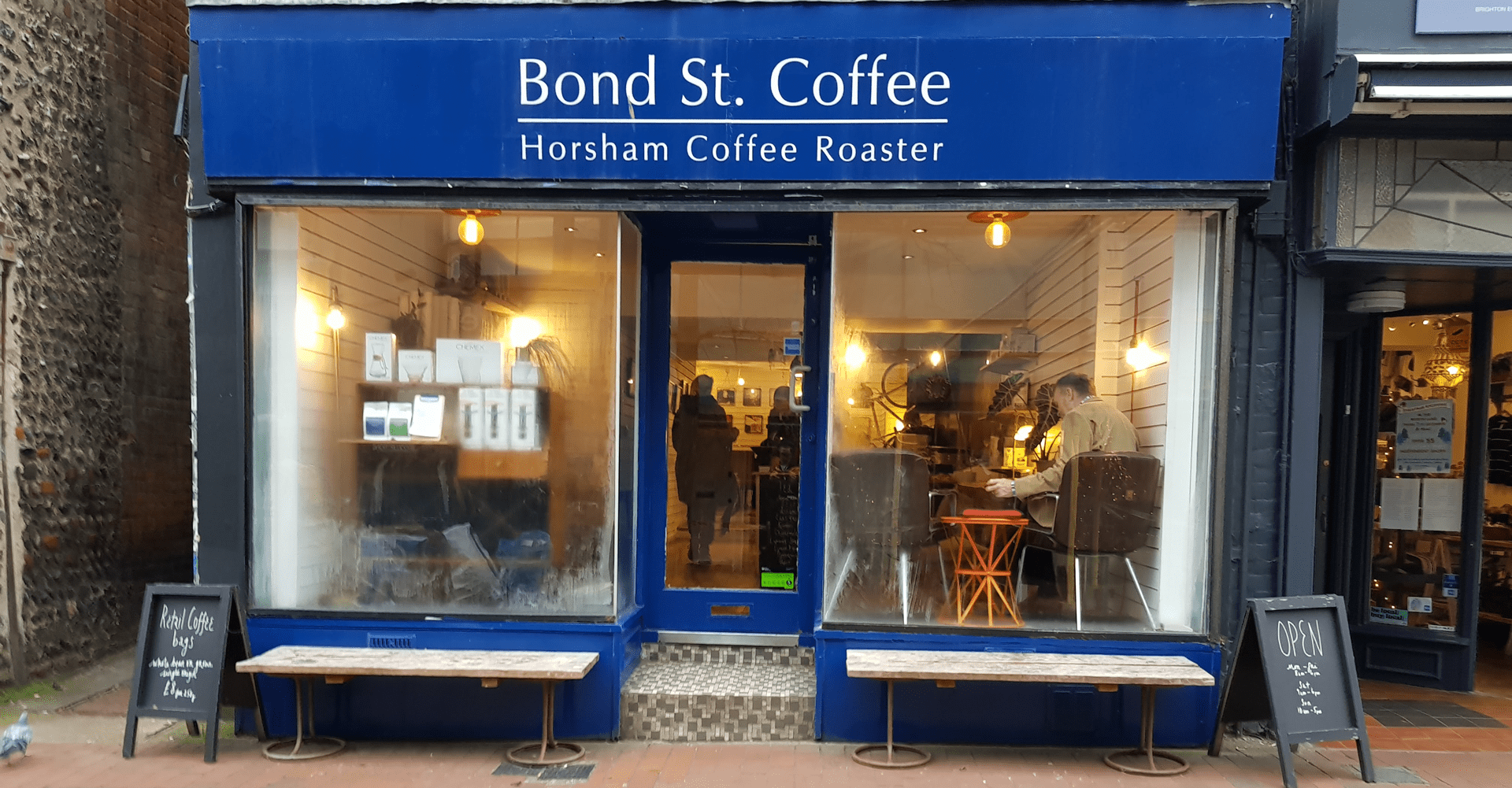 Bondst The Independent Brighton Hove Coffee Guide