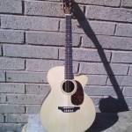 Custom Flat Folk Guitar