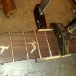 Frets Are Pressed In
