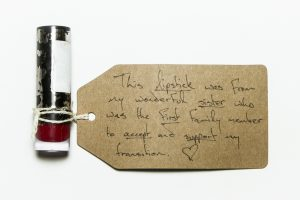 Lipstick from the Museum of Transology display