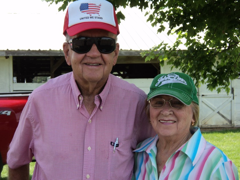 Norm and Mary have family all over the world, and still bring community spirit to the local 4-H Fair.