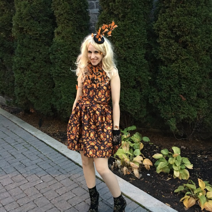 Effie Trinket Halloween Costume